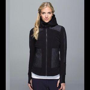 Black Fleecy Keen Jacket size 4